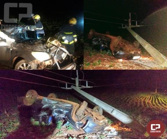 Jovem de 29 anos morre em acidente automobilístico em Nova Santa Rosa