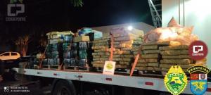 BPFron apreende mais de 4 toneladas de maconha em Santa Helena