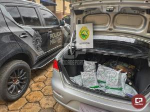 BPFron apreende agrotóxicos contrabandeados durante Operação Hórus em Foz do Iguaçu