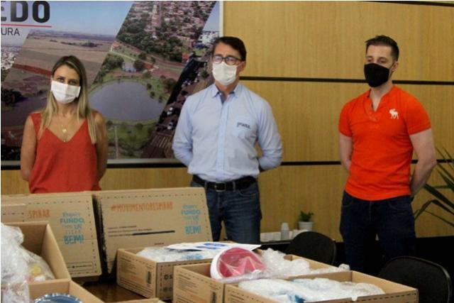 Fiasul doa equipamentos para auxiliar pacientes de Covid-19