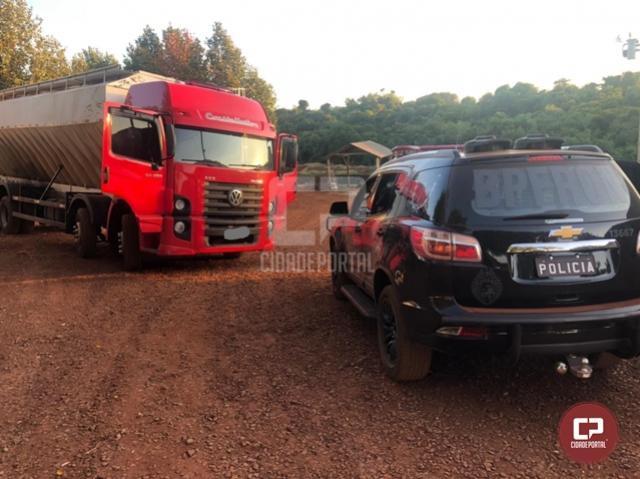 BPFron apreende caminhões carregados com cigarros contrabandeados em Toledo