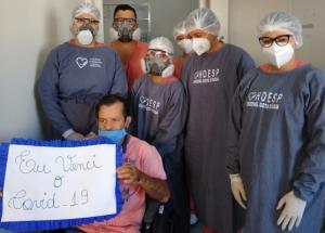 Esperança: 15 pessoas com Covid-19 recebem alta no Hospital Bom Jesus em Toledo