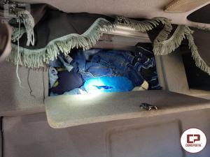 PRF apreende 6 kg de Cocaína em cabine de Caminhão no município de Céu Azul