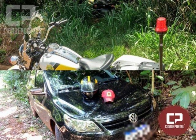 Posto Policial de Santa Helena recupera veículo roubado no município de Santa Terezinha de Itaipu