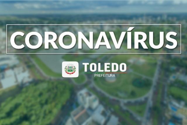 Toledo registra 20 casos positivos de Coronavírus no município