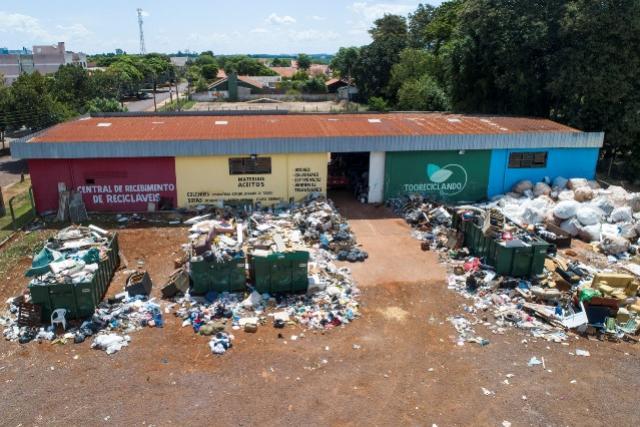 Central de Recebimento dá a destinação correta para materiais volumosos em Toledo