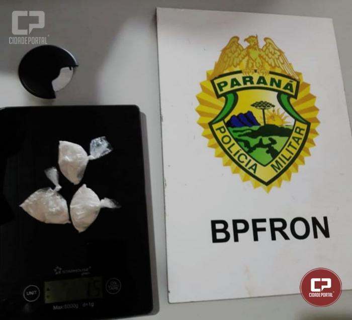 BPFRON apreende buchas de cocaína em Foz do Iguaçu durante Operação Hórus