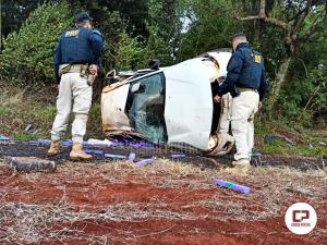 Após fuga e perseguição, PRF apreende mais de meia tonelada de maconha e prende traficante em Céu Azul