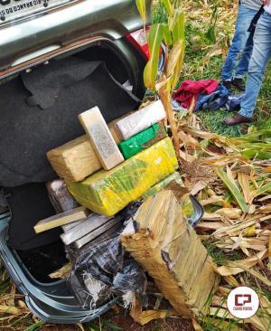 PRE apreende 119 kg de maconha entre Toledo e Ouro Verde do Oeste