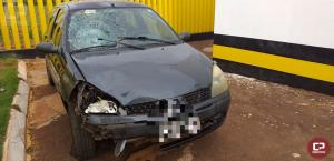 PRE de Santa Helena prende motorista sob efeito de bebida alcoólica durante atendimento de acidente