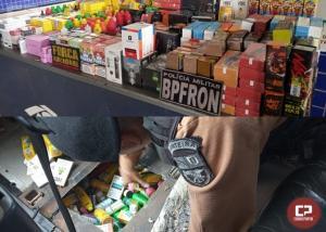Operação Hórus apreende contrabando em fundo falso de veículo em Foz do Iguaçu