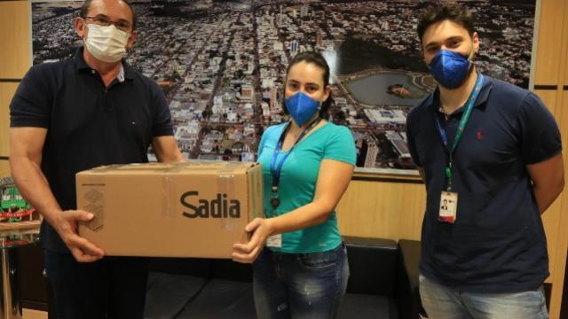 BRF doa 300 testes rápidos para Covid-19 ao Município de Toledo