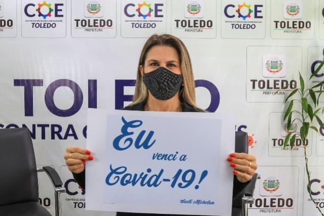 Toledo já tem 432 casos recuperados da Covid-19