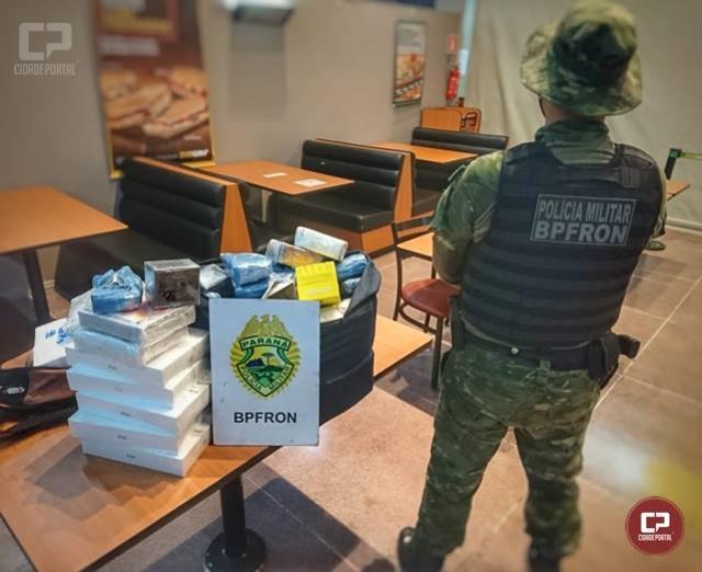 BPFron apreende produtos eletrônicos durante Operação Metrópolis em Foz do Iguaçu