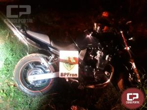 BPFron recupera motocicleta furtada em Foz do Iguaçu/PR