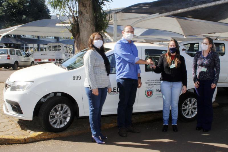 Programa Liberdade Cidadã repassa veículo 0 km a Assistência Social