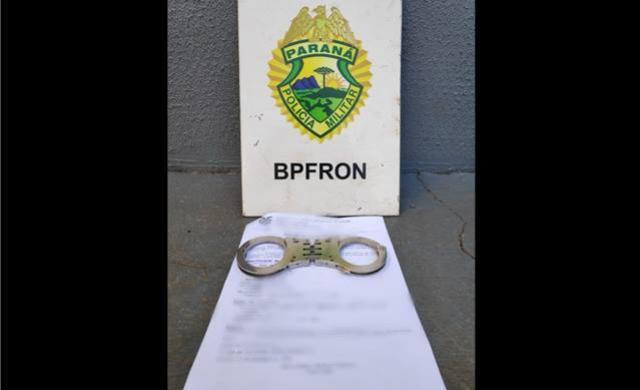 BPFron prende homem com mandado de prisão em aberto em Santa Helena durante Operação Hórus
