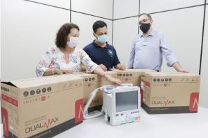 Saúde de Toledo recebe cardioversores para reforçar luta contra a Covid-19