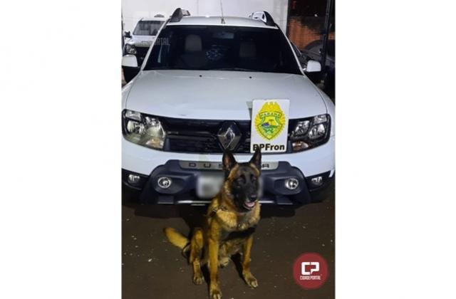 BPFRON recupera, em Santa Helena, Duster roubado em Curitiba no ano de 2019