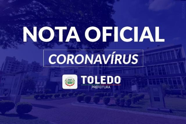 Boletim: Toledo registra 63º óbito por Covid-19