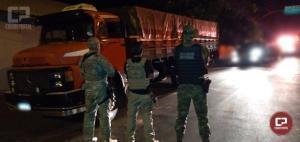 Policiais apreendem caminhão com cigarros em Santa Helena no âmbito da Operação Hórus