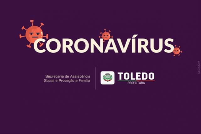 Secretaria de Assistência Social de Toledo informa sobre projeto de auxílio aos trabalhadores informais