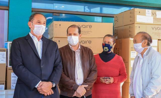 Entrega de equipamentos amplia leitos de UTI Covid-19 no Bom Jesus em Toledo