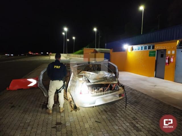 PRF apreende drogas e munições na BR-277 em Cascavel