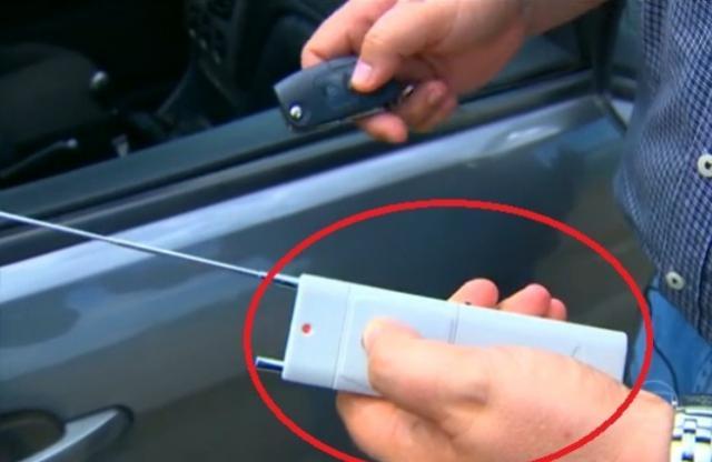 Dispositivos que impedem o travamento de veículos estão sendo utilizados para prática de furtos em Campo Mourão