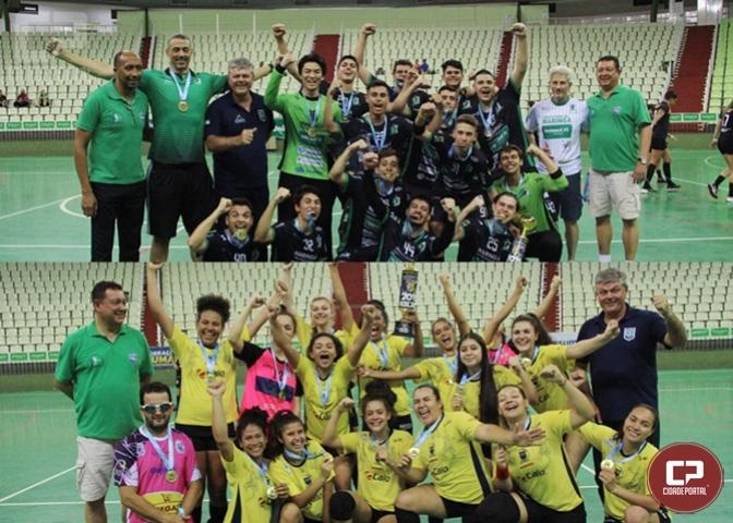 Cascavel e Maringá comemoram título da Chave Ouro no Paranaense de Handebol Juvenil