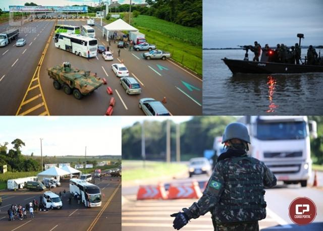 Exército inicia Operação Ágata no oste  do Estado do Paraná
