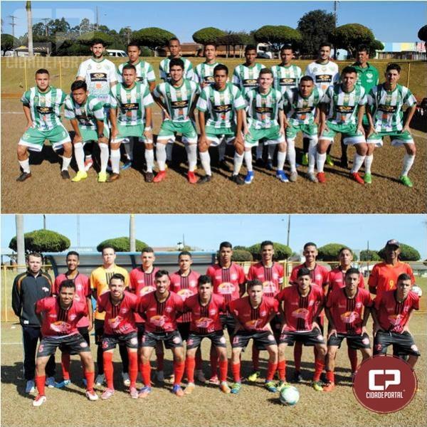 Campo Mourão e Moreira Sales decidem o Ouro no futebol da regional dos JAPS