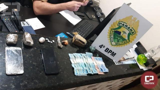 PM prende sete indivíduos por tráfico de drogas, associação criminosa e receptação