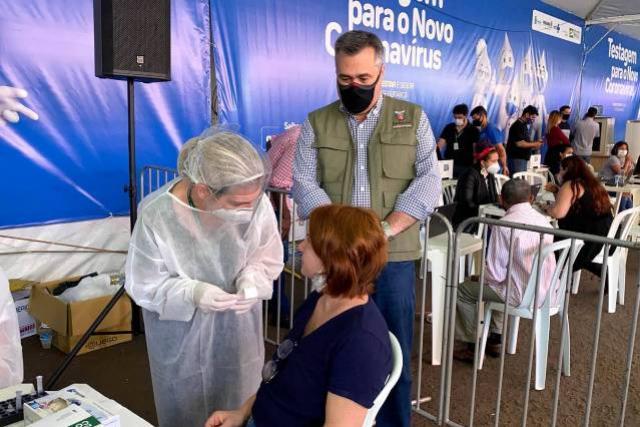 Paraná receberá 135 mil testes em programa de detecção e bloqueio de casos da Covid-19