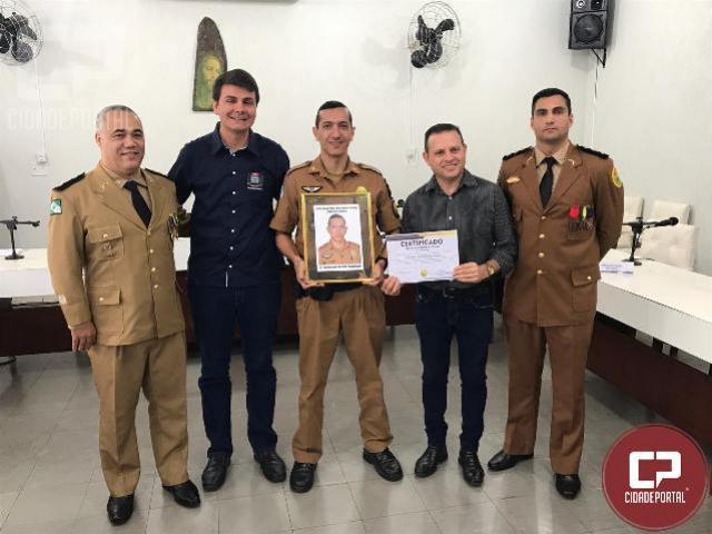 7° BPM realiza solenidade militar em homenagem ao Coronel Sarmento