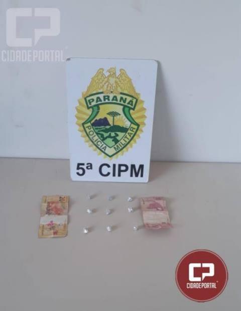Equipe da PM apreende menor de idade por ato infracional em Cianorte