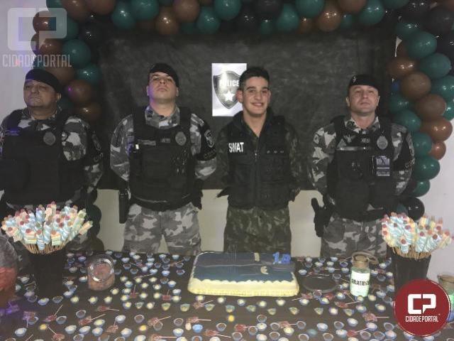Polícia Militar participa de aniversário temático em Maringá