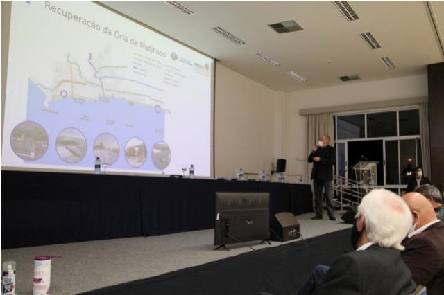 Audiência pública apresenta e discute obras na orla de Matinhos