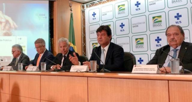 Brasil confirma primeiro caso de coronavírus