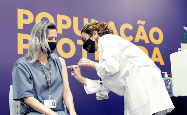 136,2 mil pessoas já foram vacinadas no Paraná