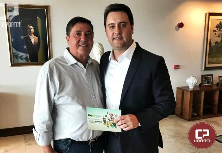 Governador Ratinho Junior confirma visita a Expo Umuarama