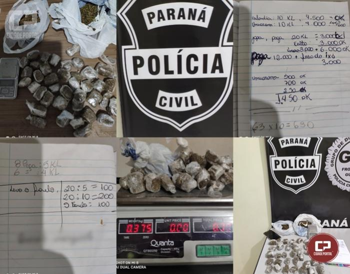 """PC de Umuarama deflagra """"Operação Hanzai"""" e prende autores de latrocínio ocorrido na cidade de Perobal"""