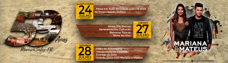 59 Anos de Moreira Sales - Emancipação Política