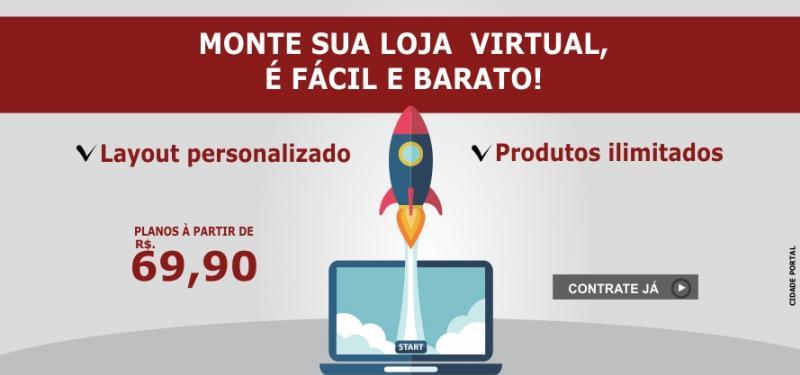 Monte sua Loja Virtual, é Fácil e Barato!