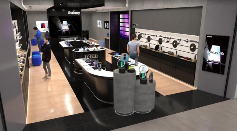 Com ambiente moderno e tecnológico, Samsung inaugura loja no shopping Iguatemi Porto Alegre