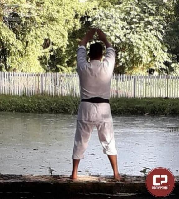 O karatê no combate ao Estresse - Sensei Jerimoto Gaspar dos Santos