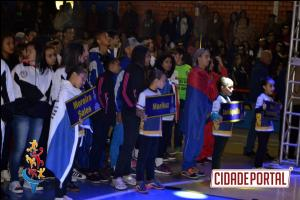 Abertura em alto nível dos Jogos Escolares do Paraná na cidade de Rancho Alegre d'Oeste
