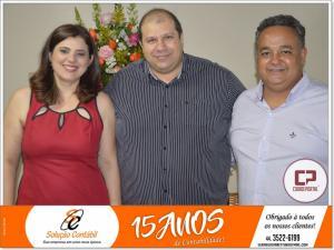Elaine Giovanetti Honorato comemora 15 anos de contabilidade empresarial com coquetel para clientes