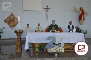 Paróquia Cristo redentor comemorou 25 anos neste domingo, 12