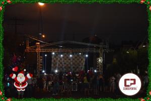 Fotos da chegada do Papai Noel em Goioerê